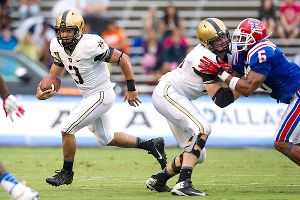 Quarterback Angel Santiago and Army will play at Boston College on Saturday after all.