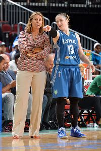 Coach Cheryl Reeve, left, who has led Lindsay Whalen, right, and the Lynx to two WNBA titles in the past three years, was named a first-time assistant for the U.S. women's basketball national team.