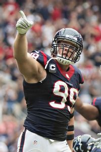 In just his third year in the NFL, J.J. Watt has emerged as one of the most disruptive defensive forces in the league.