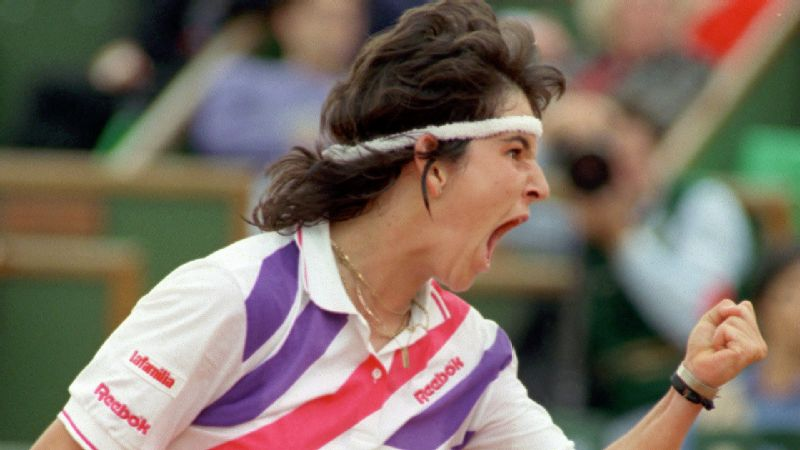 Arantxa Sanchez Vicario won four Grand Slam singles titles in her career, starting with her unexpected run at the 1989 French Open.