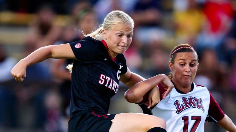 Stanford's Taylor Uhl is fascinated by the advancements in prosthetics occurring in her major of bioengineering, but some day she may have the option of putting graduate school on hold to play soccer professionally.
