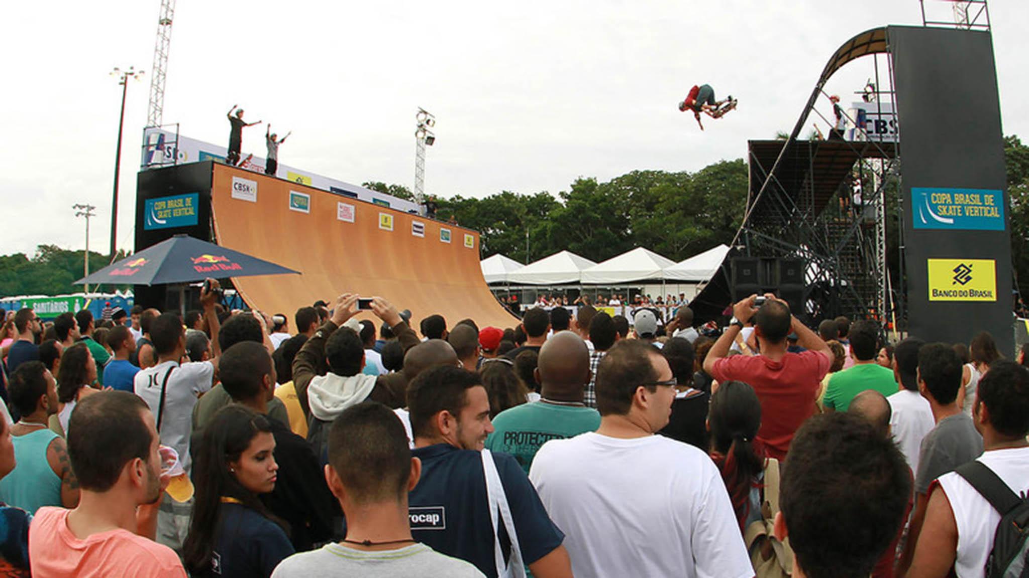 2 Etapa da Copa Brasil de Skate Vertical