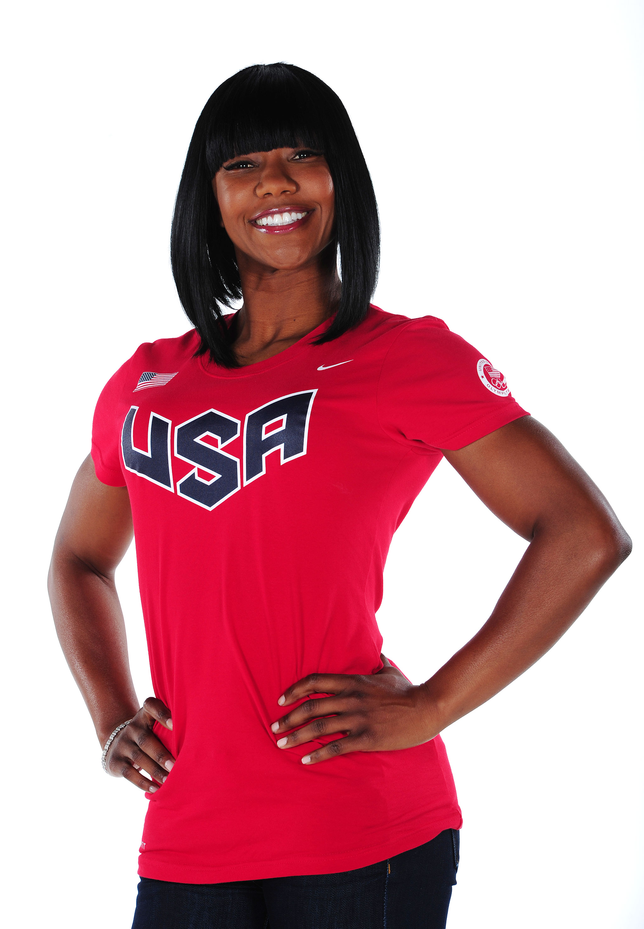 Carmelita Jeter has had plenty to smile about in her decorated track career, including capturing three medals at the 2012 London Olympics.