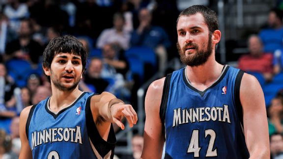 Can Ricky Rubio and Kevin Love elevate the Wolves to where they were projected to be?