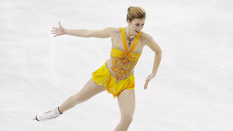 Ashley Wagner, U.S. national figure skating champion for the past two years, debuted -- and landed -- her triple-triple combination at the Japan Open on Oct. 5.