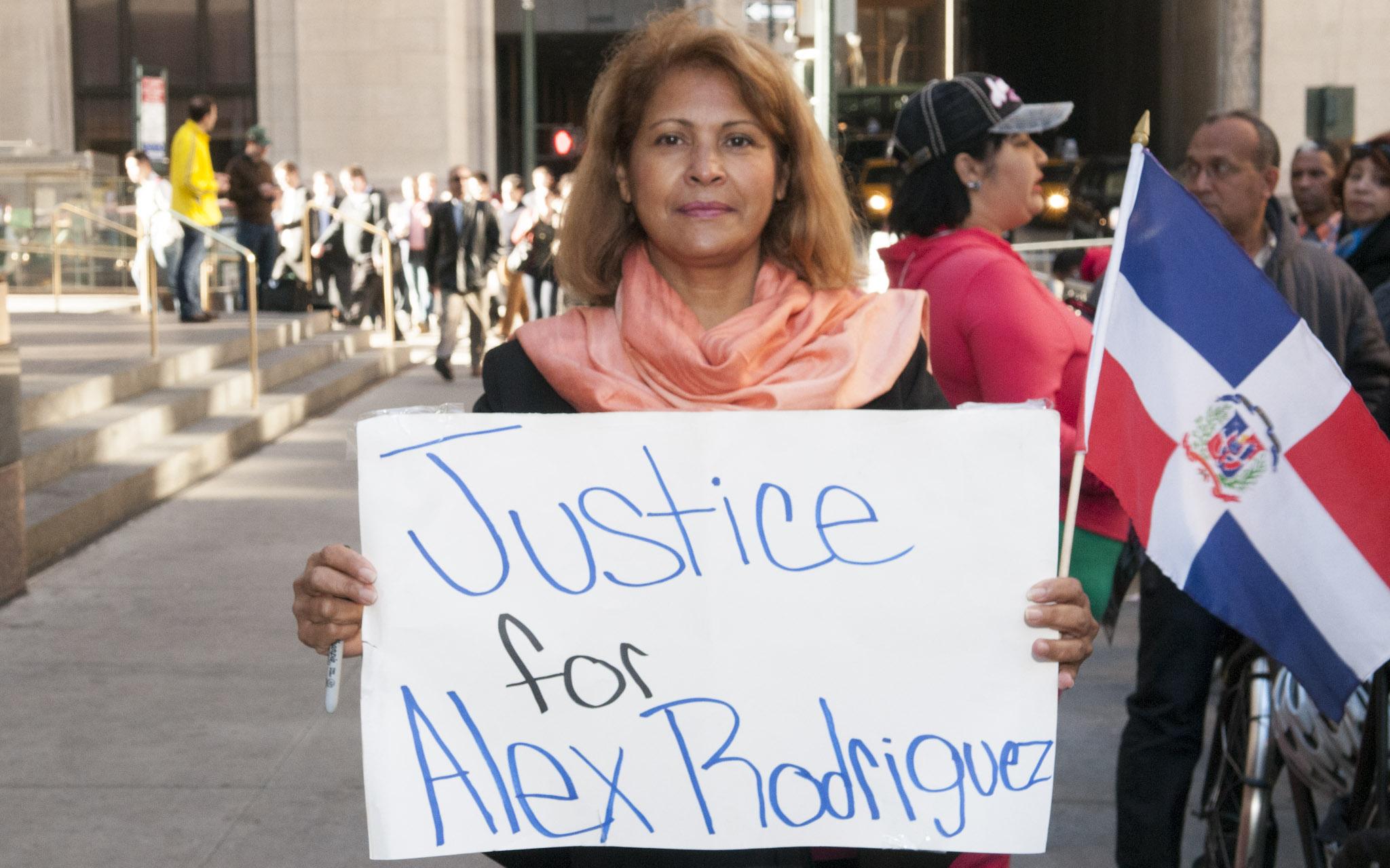 Alex Rodriguez Supporter