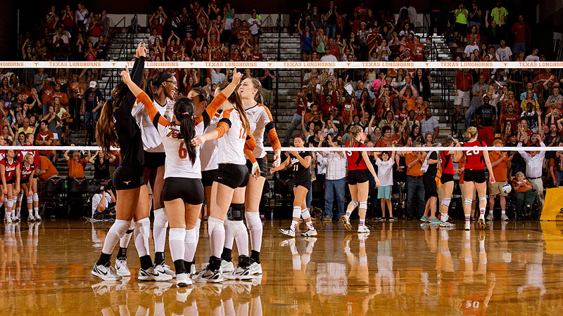 The Texas volleyball players have received lots of individual accolades but realize the total team performance is what counts.