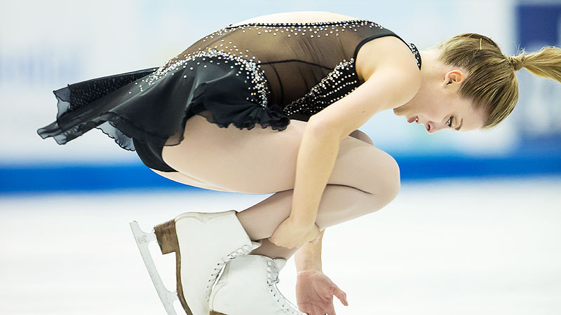 Ashley Wagner's performance Saturday put her in second place after the short program.