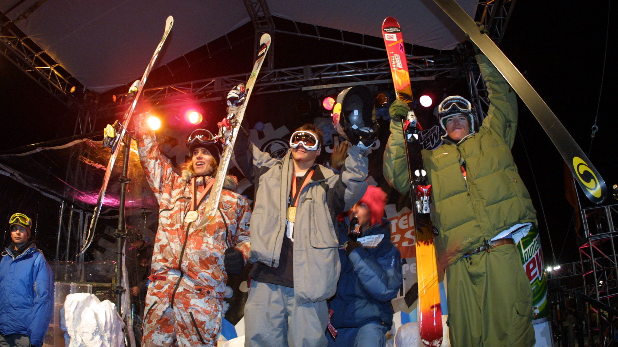 Men's SuperPipe Podium, 2004