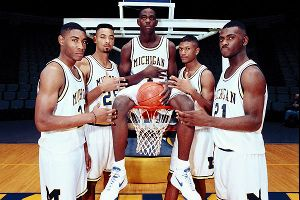 Ah, the Fab Five ... what would it have been like to see more play from the early-1990s Michigan squad?