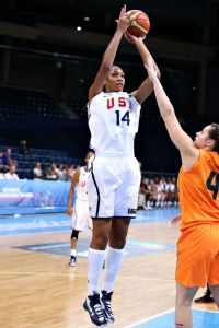 A'ja Wilson led Team USA in rebounds and blocks over the summer and was third in scoring.