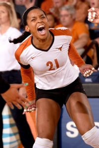 Along with her talent, Chloe Collins brings a big personality to the Longhorns.