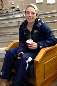 Another Hilary Knight prank: the missing tooth fake-out.