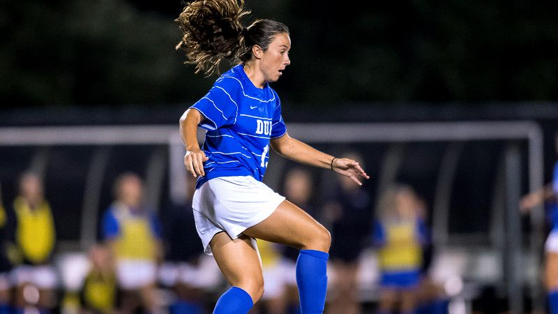Avery Rape is rarely on a stat sheet, but she embraces her role on Dukes soccer team.