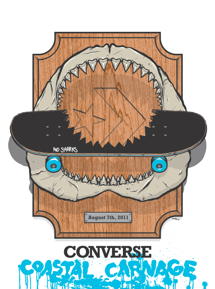 Converse Coastal Carnage