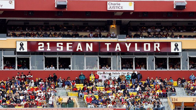 His presence is all around us, Redskins owner Daniel Snyder said of the late Sean Taylor. In our organization and among our fans.