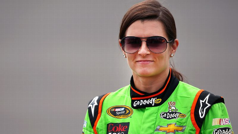 Talk to Danica Patrick about her experiences as a waitress and sales person, and she laughs -- hard.
