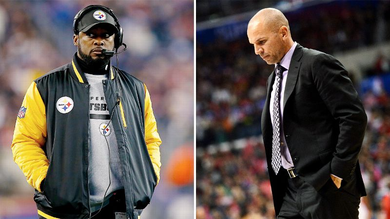 With the recent questionable decision-making and subsequent fines of Pittsburgh Steelers coach Mike Tomlin and Brooklyn Nets coach Jason Kidd, we decided to take a look at some recent poor displays of sportsmanship.  (Photos: Getty Images)