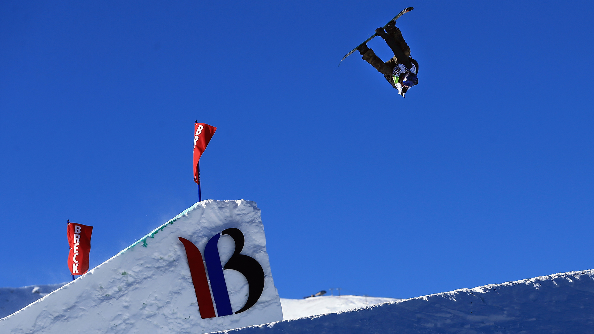 Mark McMorris, en route to first place at the Dew Tour Mountain Championships in Colo.