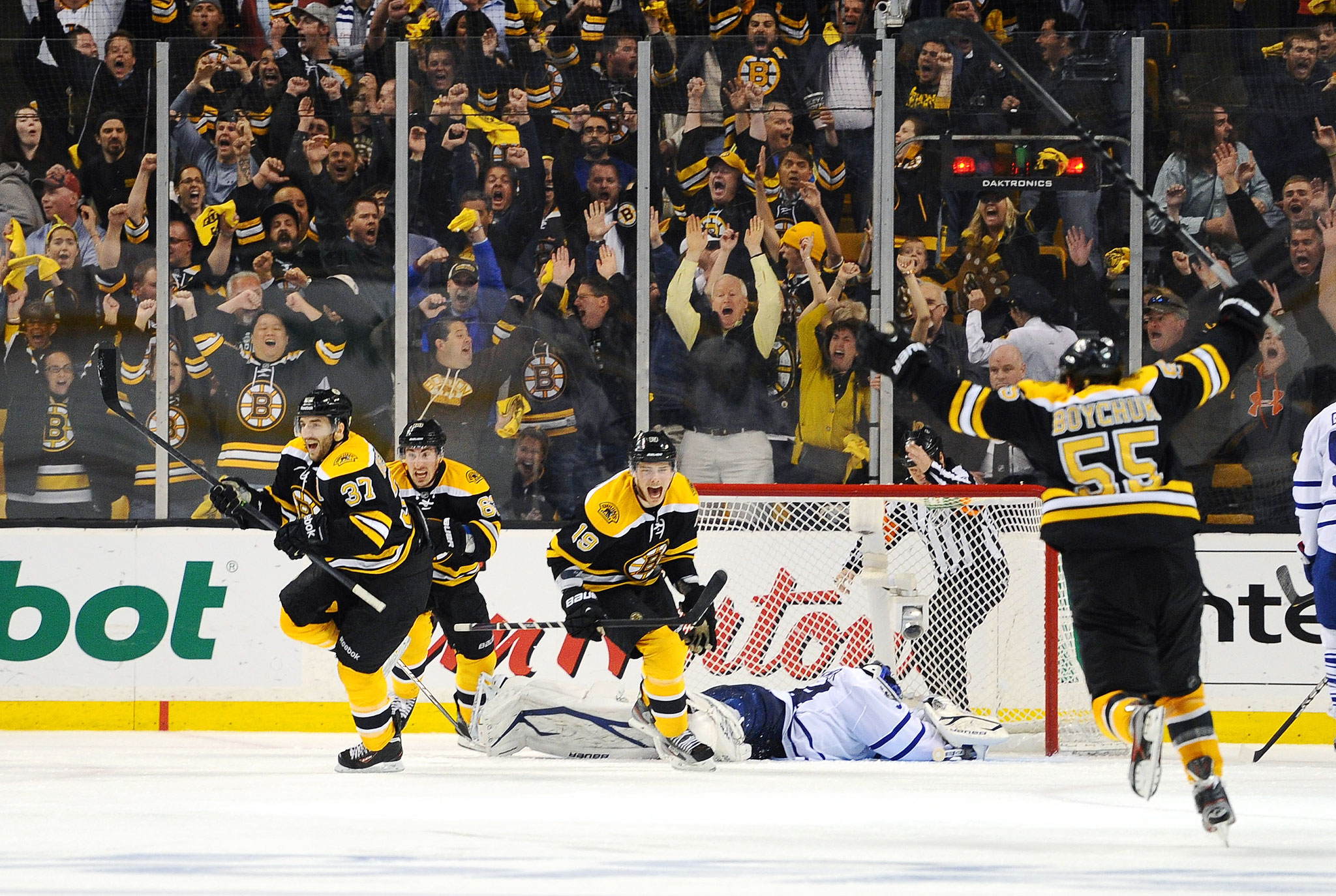 7. Bruins Rally To Beat Leafs in Game 7