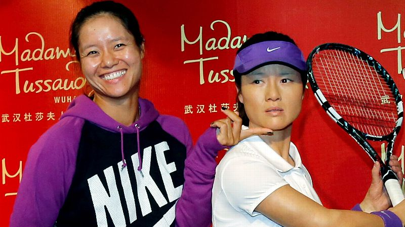 Chinese sensation Li Na received the ultimate honor in September when Madame Tussauds Wax Museum in Wuhan made a figure in her likeness. Nike endorsement, included. (Photo: AP)