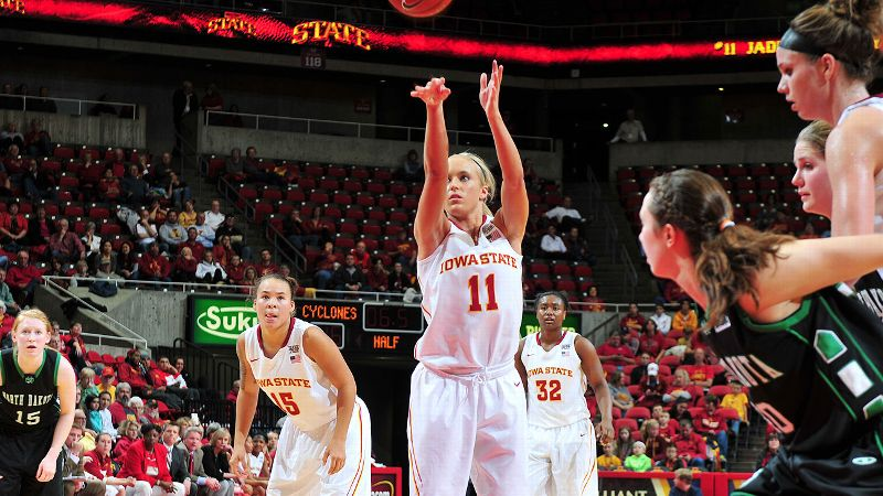 Jadda Buckley and Iowa State were inspired before the game against Iowa by emails from Cyclones supporters.