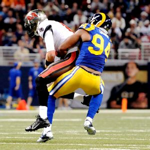 Robert Quinn was second in the NFL with 19 sacks in 2013, his third season.