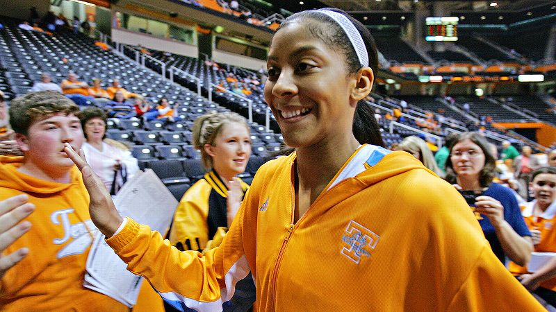 Before becoming one of the most feared players in the WNBA, Candace Parker dominated the college basketball scene during her Knoxville days.
