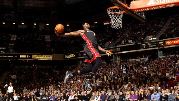 LeBron can recall all his greatest hits, but his memory isn't limited to just his most spectacular dunks.