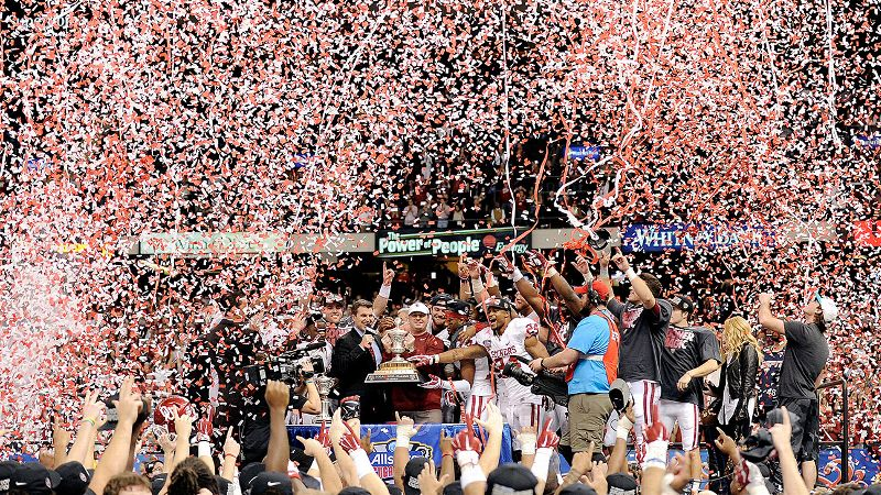 Oklahoma's win over Alabama in the Sugar Bowl sparked a banner night across social media.