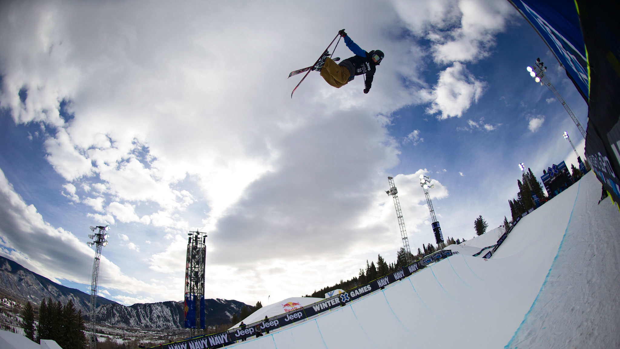 Aaron Blunck was a rookie at X Games Aspen last year. Now he's a top Ski SuperPipe contender.