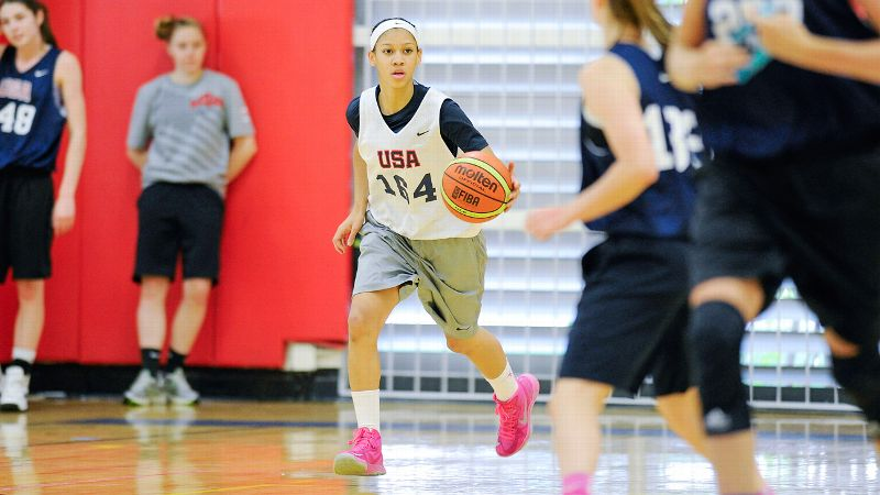 Anna Wilson knows her basketball future is in good hands with Stanford coach Tara VanDerveer.