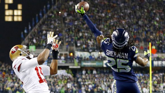 Plays like Richard Sherman's game-saving tip in the NFC title game are why big CBs are in demand.