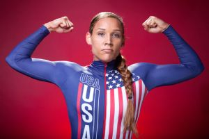 Lolo Jones' inclusion on the U.S. bobsled team sparked controversy but the federation's CEO defended his selection.
