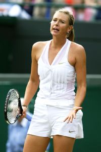 Alla Kudryavtseva made it known on and off the court that she did not like Maria Sharapova's tuxedo-dress combo.