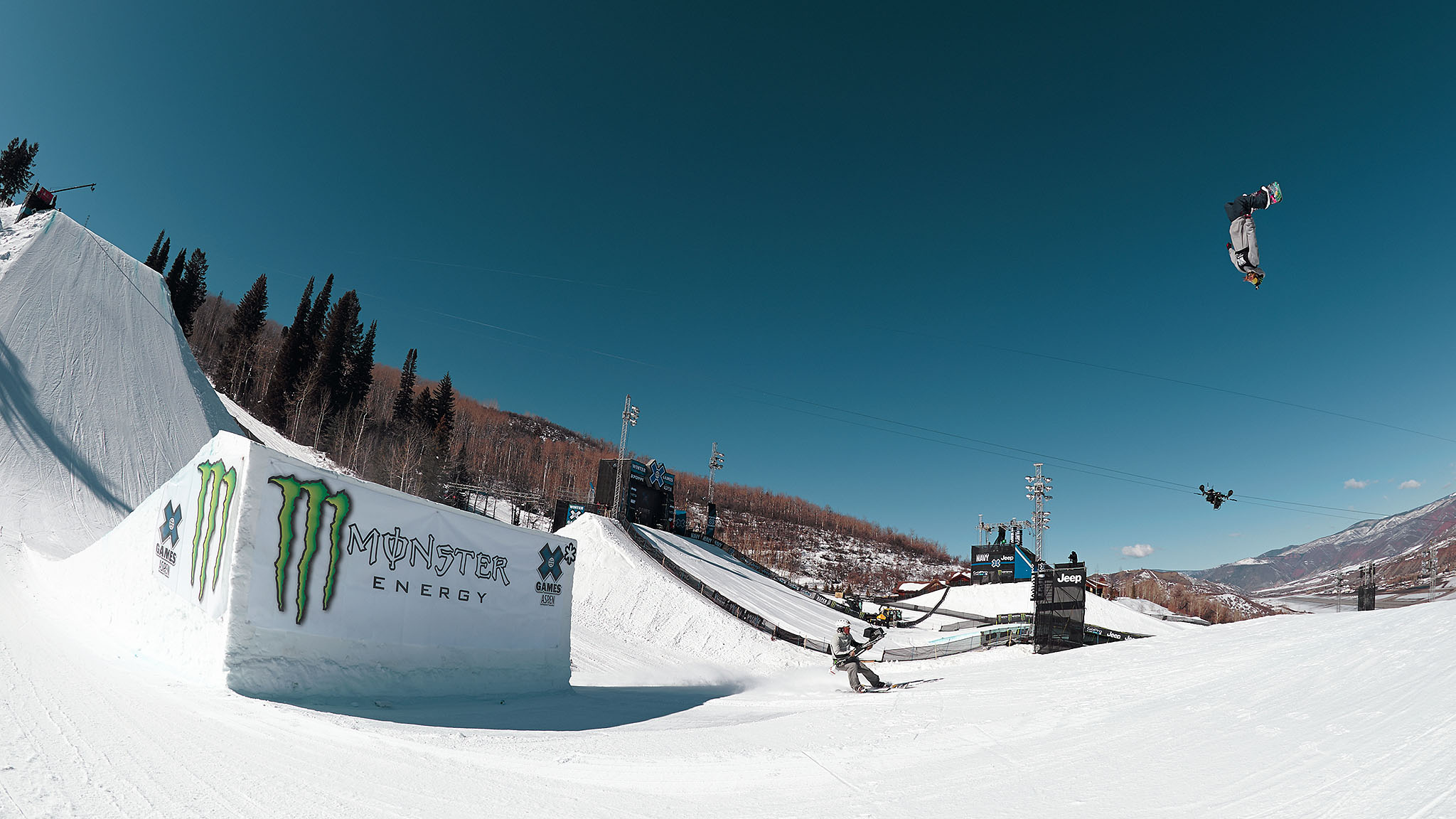X Games Aspen 2014 got off to a strong start on Thursday, with nail-biting competitions in Men's Snowboard Slopestyle elims, Ski and SNB SuperPipe elims and Colten Moore winning Snowmobile Freestyle in honor of his brother, Caleb.