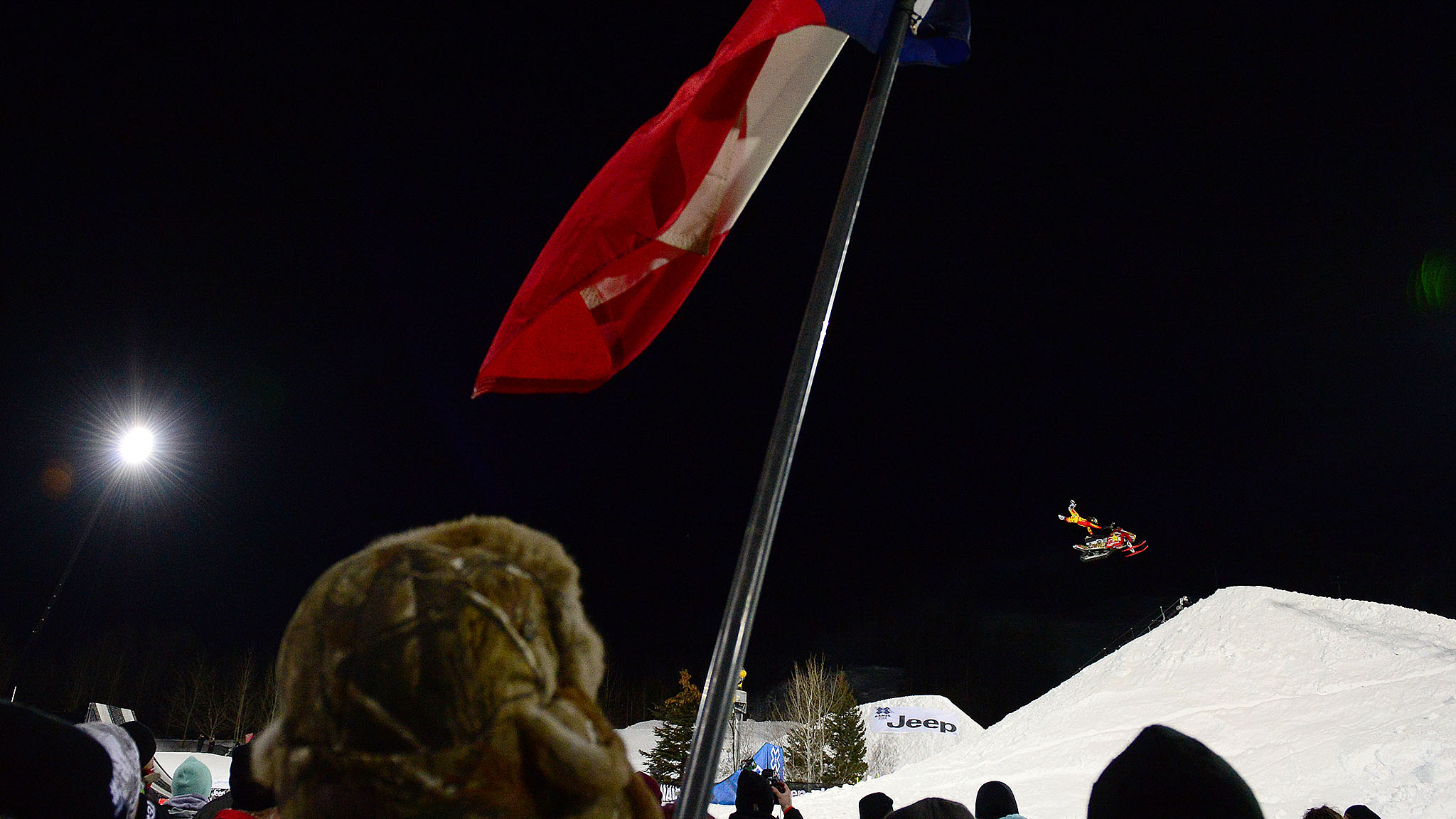 A year after the death of his brother from injuries sustained in this event, Colten Moore won gold in Snowmobile Freestyle at X Games Aspen.