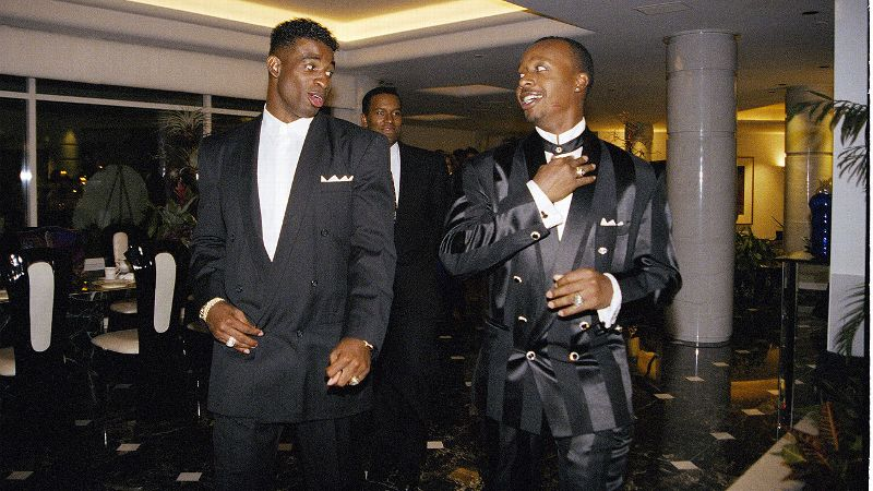 As an NFL Hall of Famer, former professional baseball player and a gifted collegiate track star, Deion Sanders' athletic ability has never been questioned. The same can't be said for his musical career. Signed to his friend MC Hammer's record label, Sanders released Prime Time and the lead-off single Must Be the Money in 1994. Both were panned by fans and critics alike. Even the video, a href=http://www.youtube.com/watch?v=KJWSm13LBh8filmed target=_blank filmed in Hammer's living room /a, failed to garner much attention. (Photo: Joseph R. Villarin/AP)