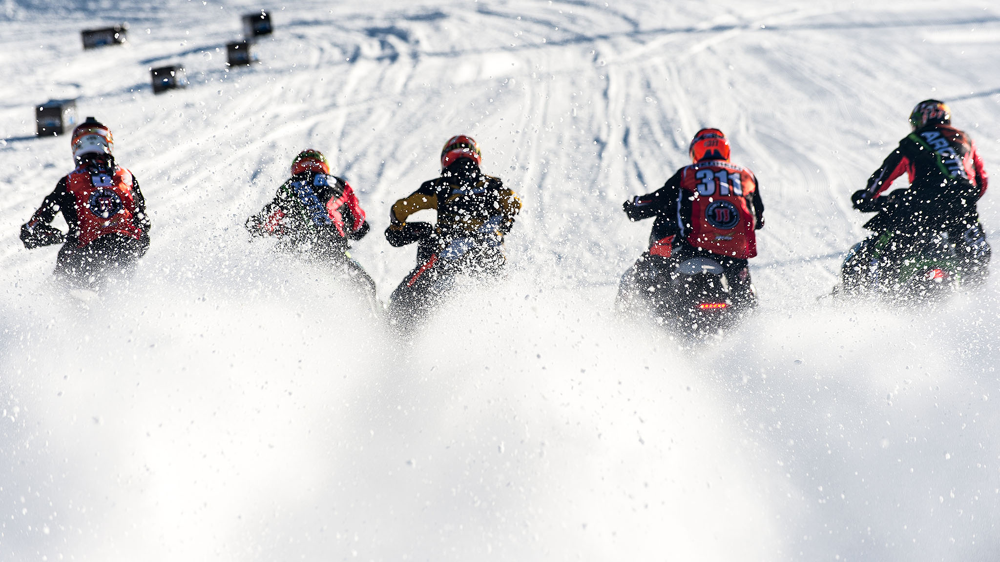 Snowmobile SnoCross