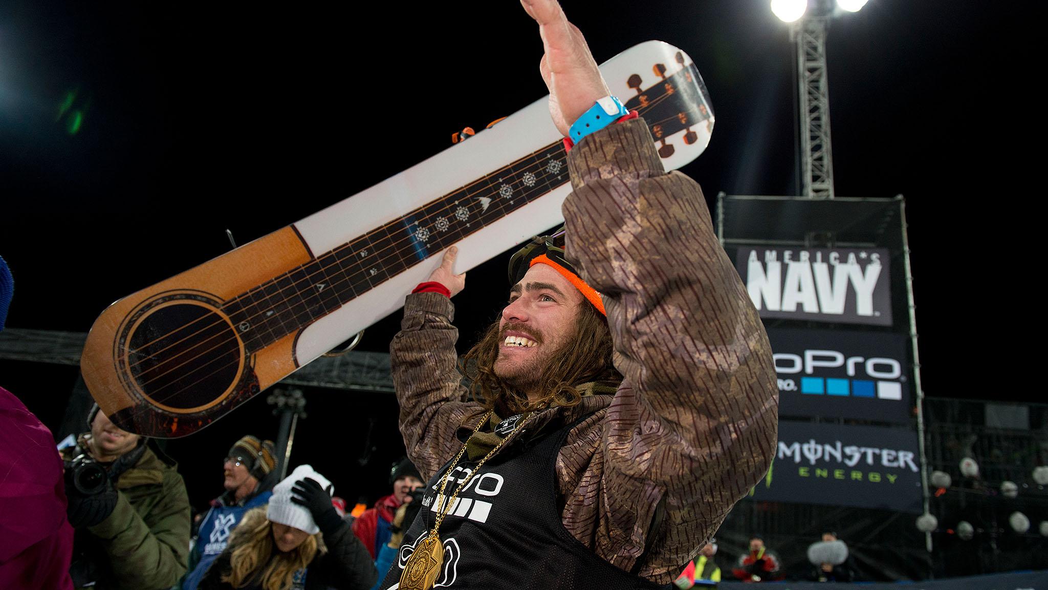 Danny Davis, Snowboard SuperPipe