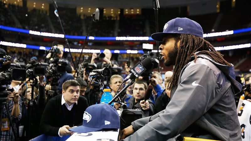 After the Seahawks CBs NFC Championship Game postgame interview with Erin Andrews went viral, Sherman became the Super Bowls most sought-after player. While everyone from analysts to your great uncle debate whether he talks too much or is a breath of fresh air, we just want to send out a friendly reminder that there are talented players worthy of discussion on the Seattle roster NOT named Richard Sherman. (Photo: Jeff Roberson/AP)
