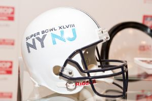 Super Bowl helmet