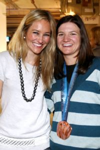 Clark feels bittersweet that longtime teammate and friend Gretchen Bleiler announced her retirement last week.