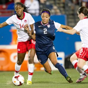 Thanks to Sydney Leroux's late goal, the U.S. extended its home unbeaten streak to 78 games.