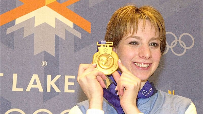 The gold medalist in figure skating at the 2002 Olympics in Salt Lake City turns 29 today. Since retiring from the sport, Hughes earned a degree from Yale in American Studies and has worked as a figure skating analyst, most recently for NBC during the Sochi Olympics in February.