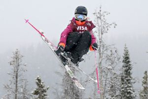 Freestyle skier Maggie Voisin, the youngest member of Team USA, will not compete in the Olympic slopestyle debut after injuring her ankle.