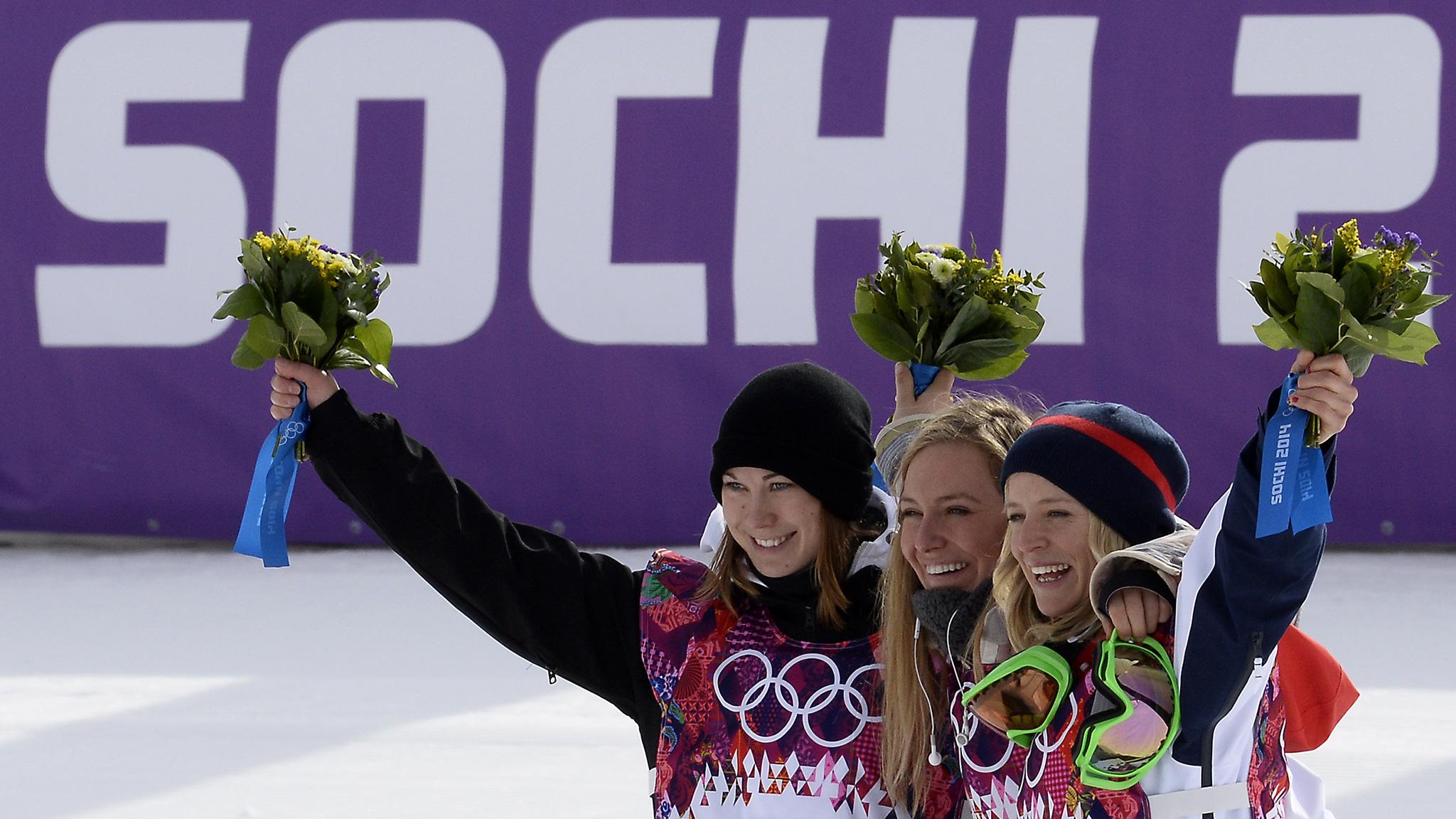 2014 Sochi Olympics -- Jamie Anderson wins as U.S. sweeps ...