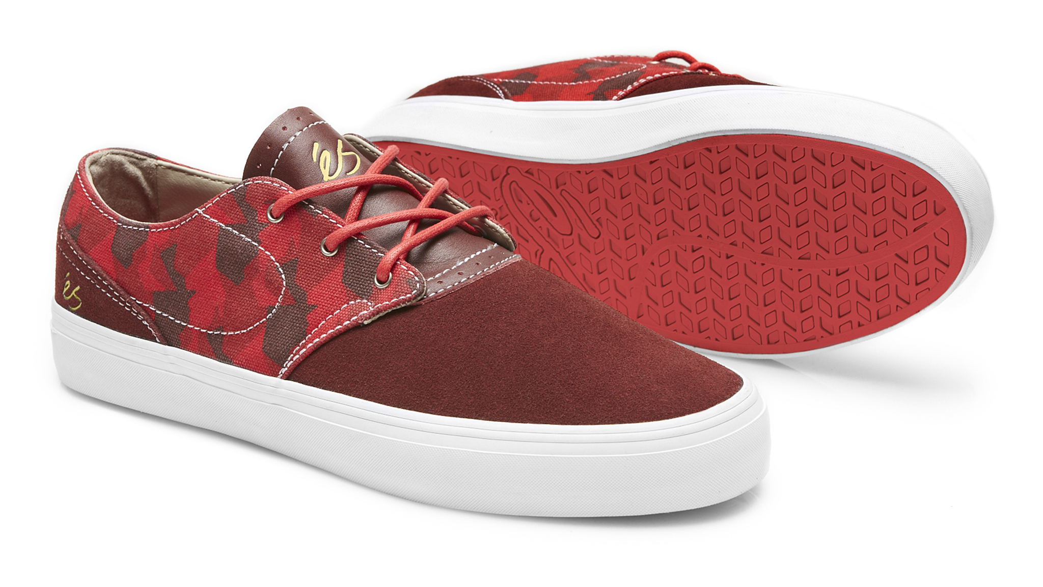 The Accent model in red from S footwear.