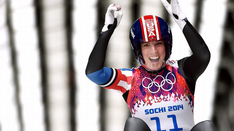 In the 50-year history of Olympic luge, no American had ever won a medal in singles. Then along came Erin Hamlin, who captured bronze in Sochi. It's amazing, Hamlin said. It's surreal, really. i(Photo: Getty Images)/i