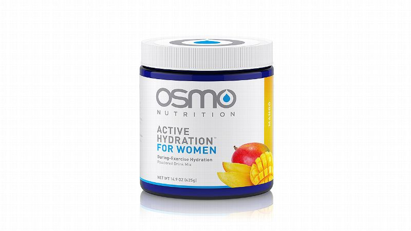 Many top endurance athletes have begun using Osmo's drink mix, the first women-specific hydration solution, above all others. A scientifically formulated mix, Osmo takes into consideration the fluctuations in sodium and plasma based on the menstrual cycle. A nutritional solution that matches a woman's physiology, Osmo can contribute to increased power output and improved endurance, and is available in single-serving packets and a 40-serving canister.